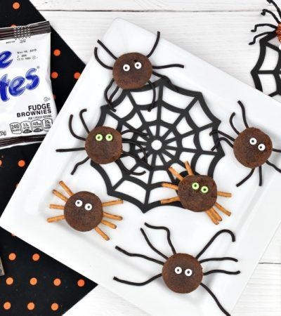 easy Halloween snack idea Halloween Spooky Spiders