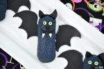Halloween Bat Twinkie close up