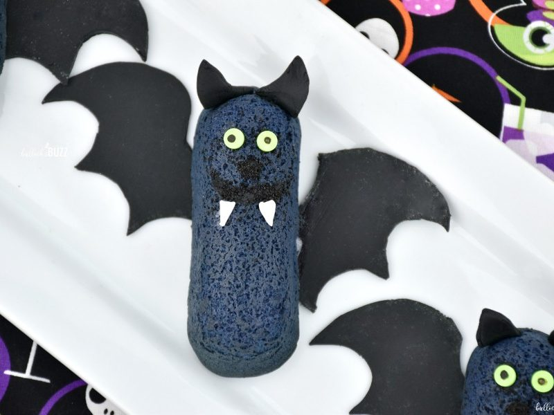 Halloween Bat Twinkie close up