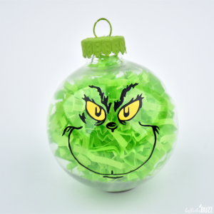 Hand-crafted Grinch Christmas Ornament