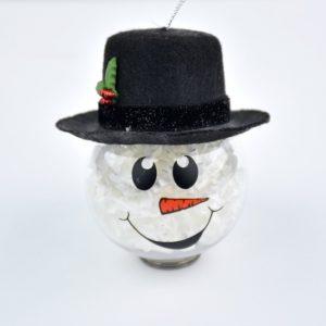 custom-made Snowman Christmas Ornament
