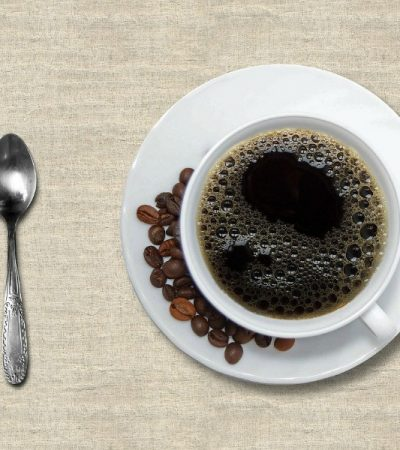 cup of decaf coffee