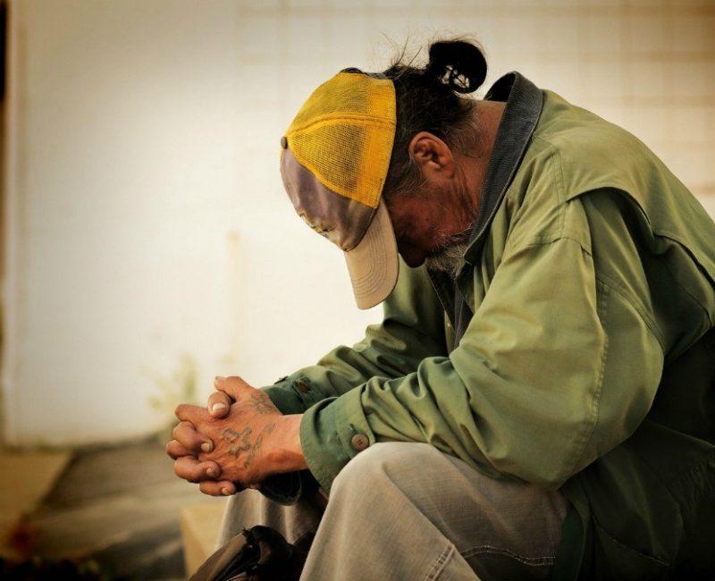 homeless man ways you can help the needy