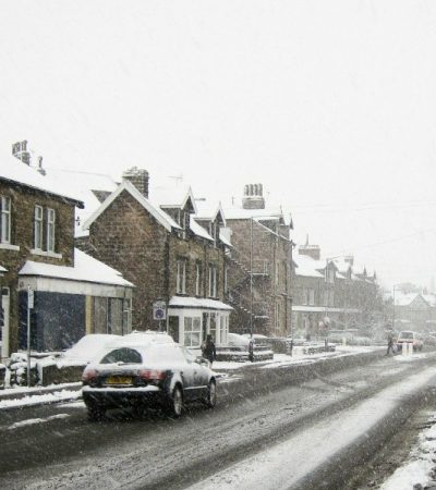 driving in snow and improving winter fuel efficiency