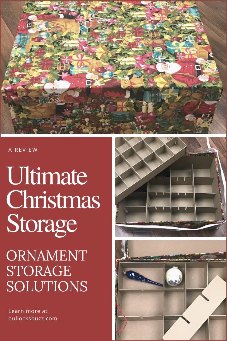 Whether you are looking to store your Christmas ornaments or to start the New Year off by cleaning and organizing, Ultimate Christmas Storage and their premium ornament storage boxes make storing and organizing a cinch!