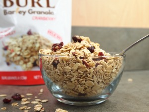 holiday gift guide gift idea Burl barley granola