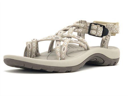 Viakix Siena Walking Sandal in beige