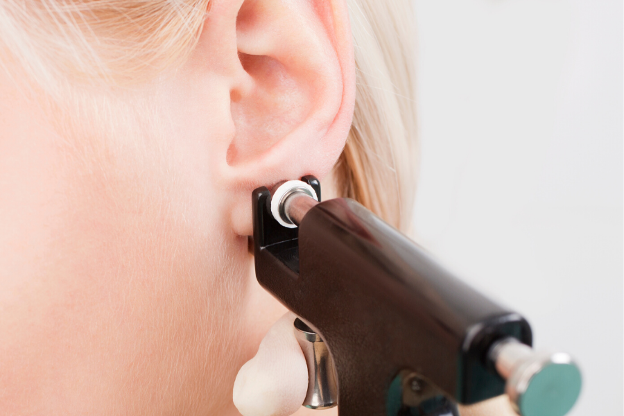 avoid piercing guns when getting your child's ears pierced