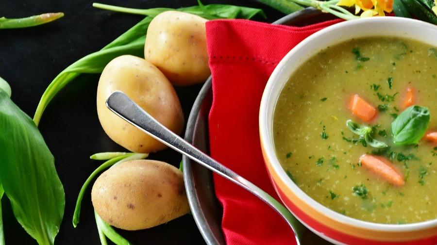 potato soup comfort food
