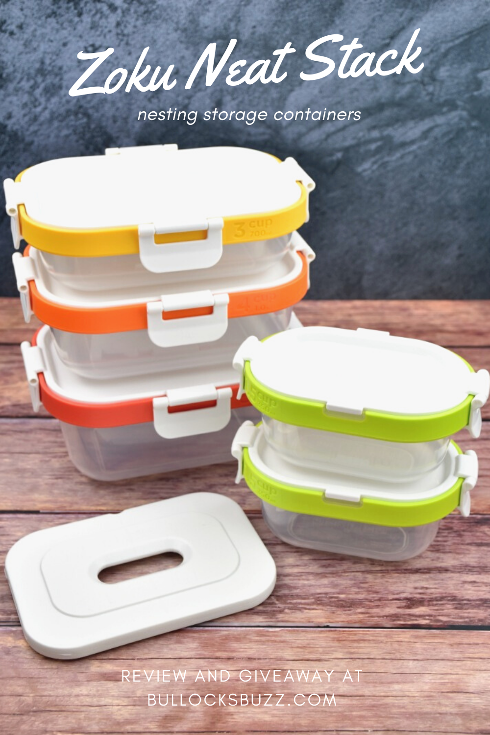 AD I usually do not get excited about storage containers, but Zoku's Neat Stack Nesting Storage Containers are unlike any storage container set I've had.