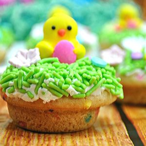 Easter Cookie Cups Easter-themed baking recipe