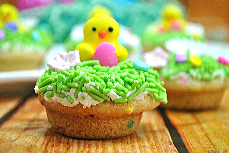 Easter-themed baking recipe Easter Cookie Cups