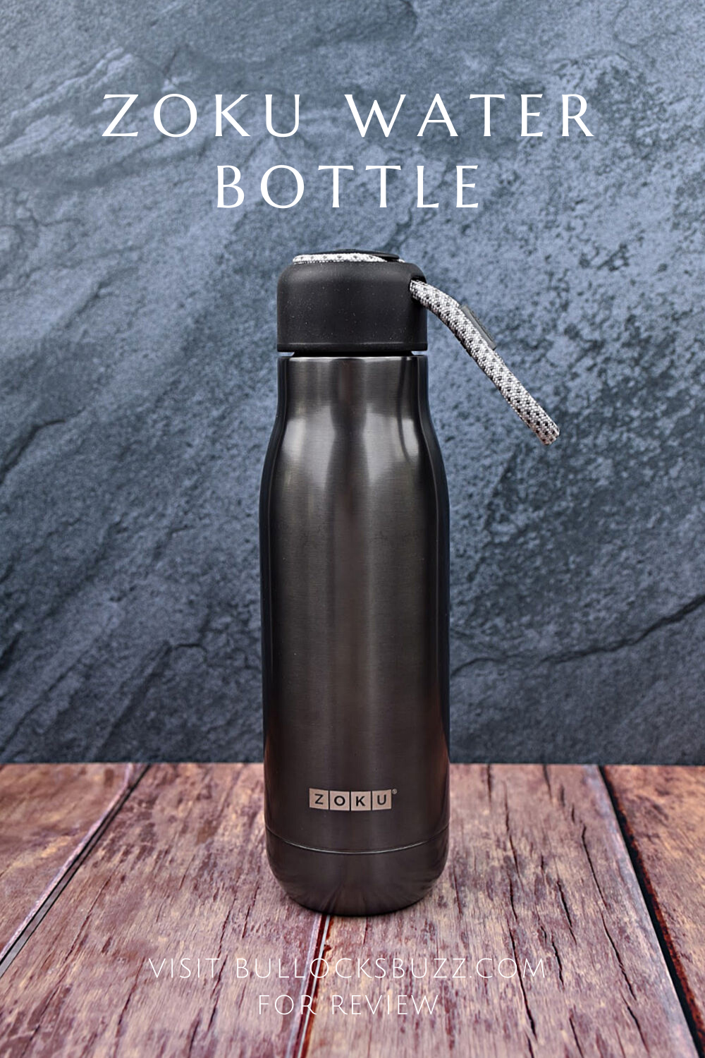 The best water bottles should be convenient, functional, and safe from harmful chemicals. The Zoku Stainless Steel Water Bottle is not only sleek and stylish, but it's also double-walled vacuum insulated, free from harmful chemicals, has a nifty lanyard for easy carrying, and much more!