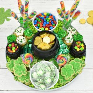 easy St. Patrick's Day Dessert Charcuterie Board