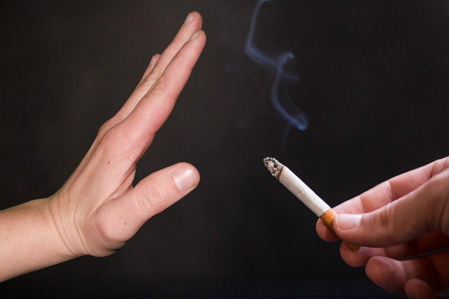 quitting smoking saying no to cigarettes