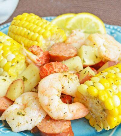 Cajun Seafood Boil Foil Packets recipe