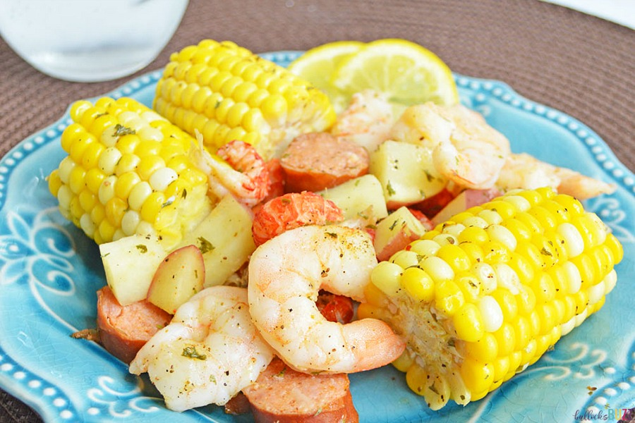 Cajun Seafood Boil Foil Packets recipe