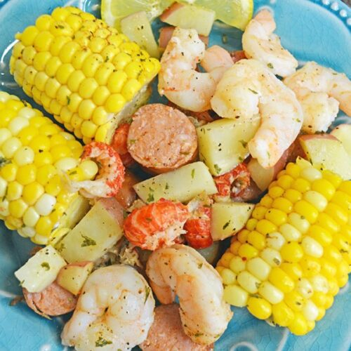 easy cajun seafood boil foil packets