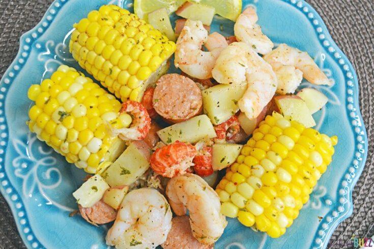 easy cajun seafood boil foil packets