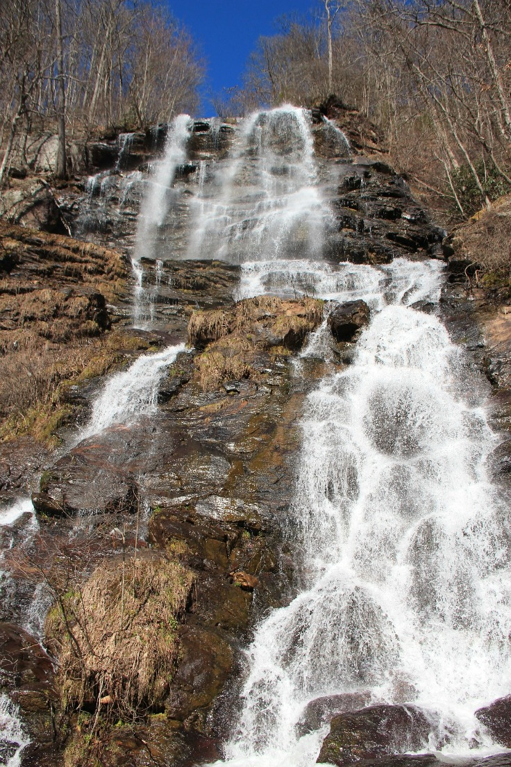 amicalola falls in north georgia outdoor adventure road trips