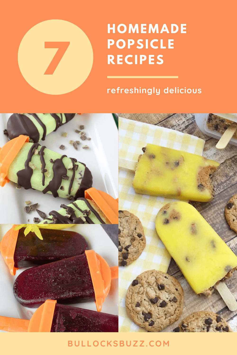 Nothing beats an ice-cold popsicle on a sweltering summer's day. Keep cool with this popsicle recipe roundup featuring seven delicious homemade popsicle recipes that are so easy to make, you'll skip the store-bought ones for good.
