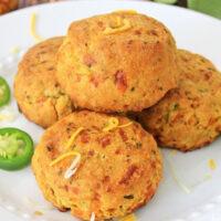 homemade Jalapeño Cheddar Cornbread Muffins