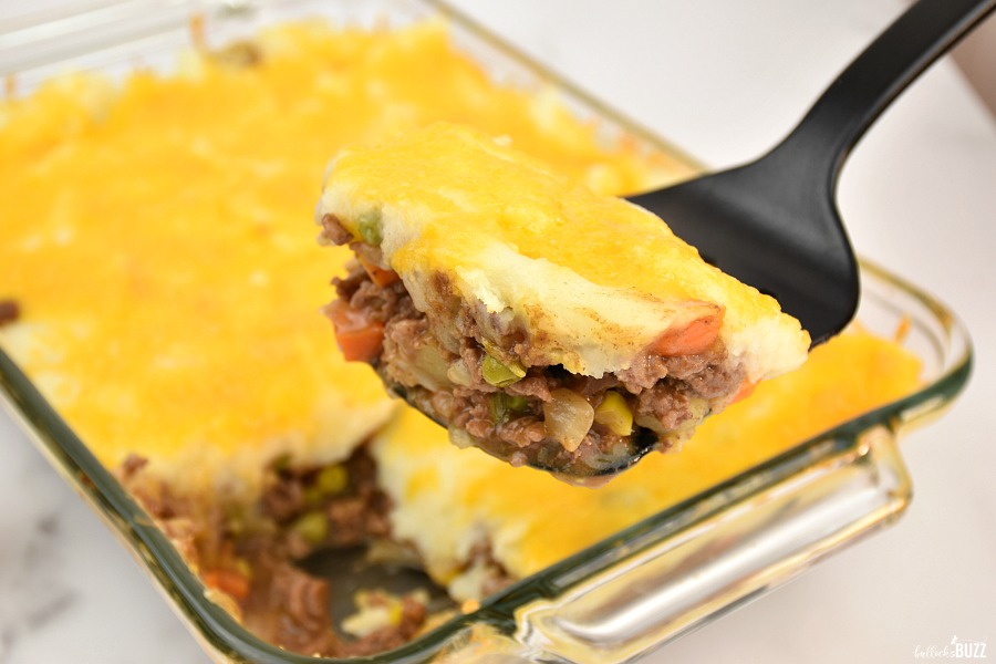 shepherd's pie recipe fresh out of oven
