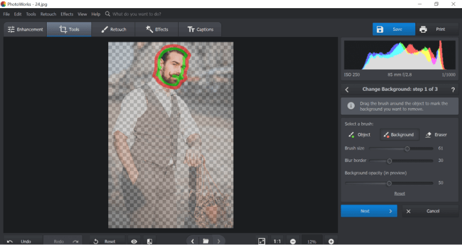 easy way to do a face swap using photoworks desktop