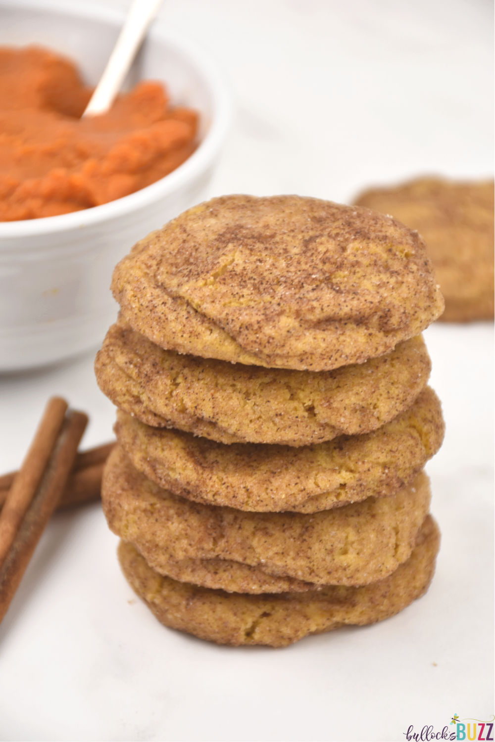 Soft, chewy, and absolutely packed with delicious flavor, these Pumpkin Snickerdoodles are sure to become a favorite!