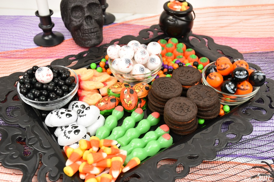 easy Halloween Candy Charcuterie Board