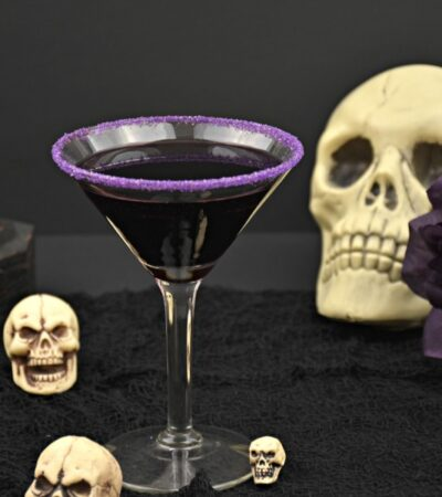 Halloween cocktail recipe The Gravedigger