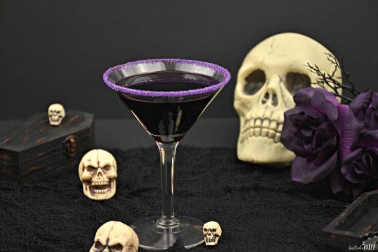 Halloween cocktail recipe The Gravedigger