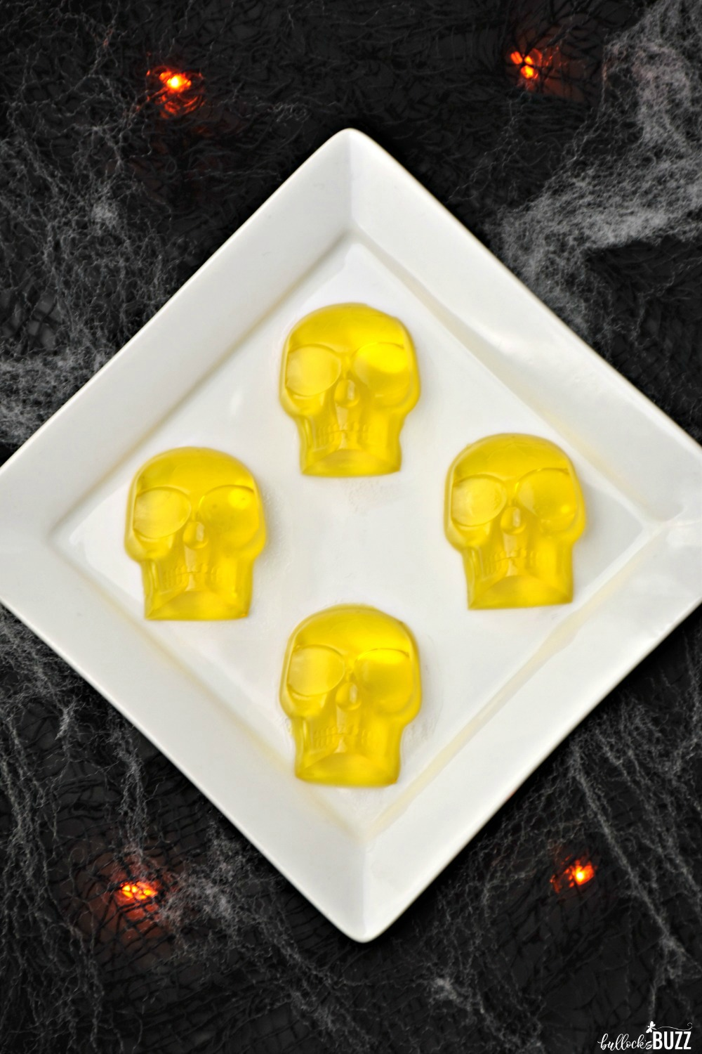 These devilishly delicious, made-from-scratch Boozy Gummy Skulls are a spooktacular solution to Halloween snacks for adults.