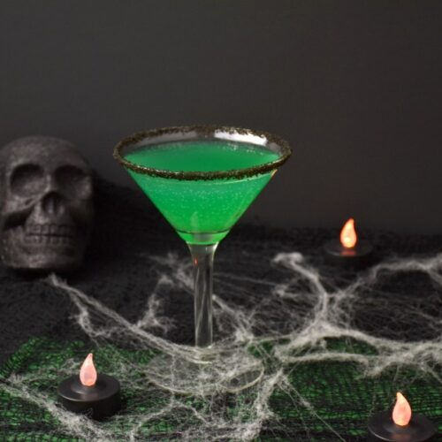 Green Goblin Halloween Cocktail Recipe