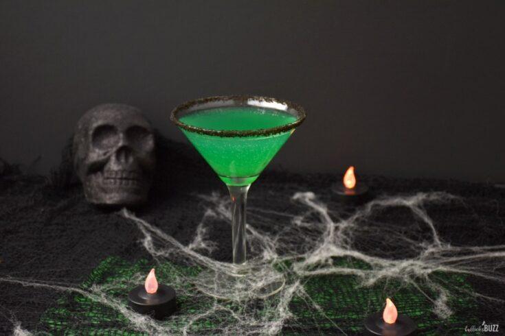Green Goblin Halloween Cocktail Recipe