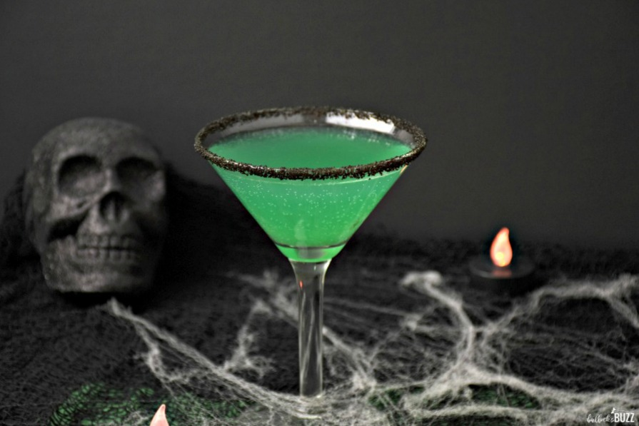 creepy Green Goblin Halloween Cocktail recipe