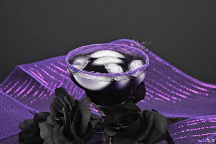 Magic Potion Purple Halloween Cocktail