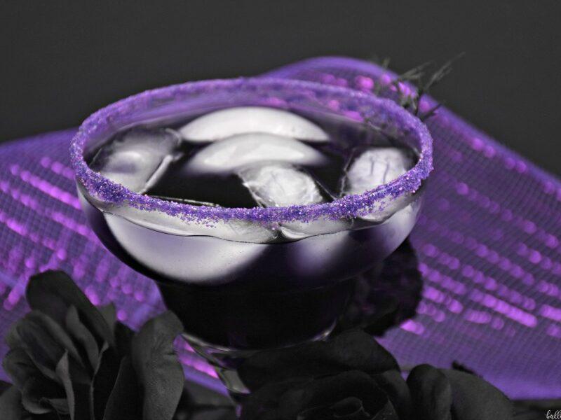 Magic Potion easy purple Halloween cocktail recipe
