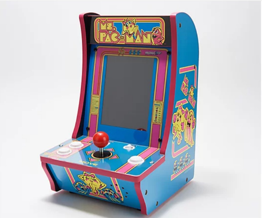 shop QVC for the holidays for items like this Arcade1Up Choice of Games Countercade Tabletop Home Arcade Machine