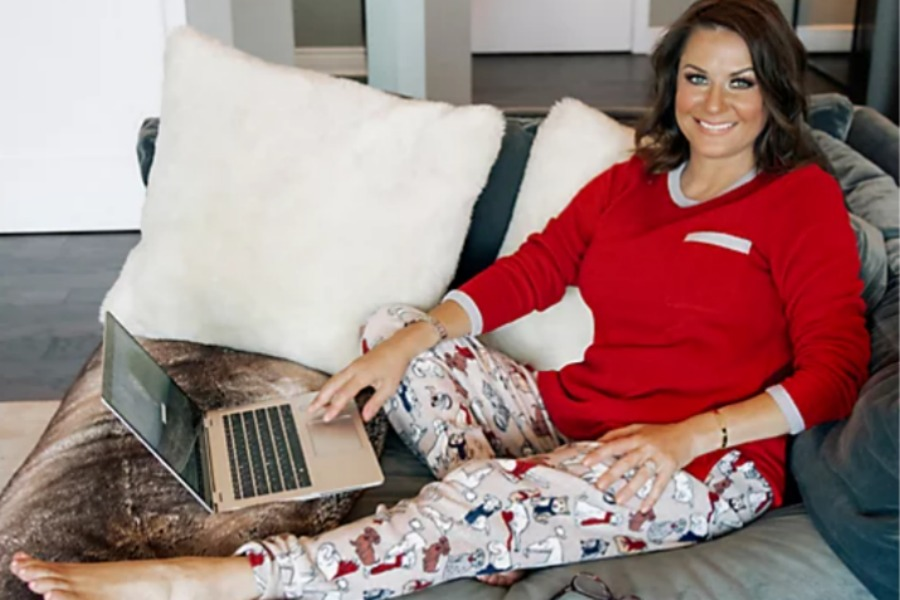 Cuddl Duds Tall Fleecewear Stretch Jogger Pajama Set is one of the things you can find when you shop QVC for the holidays