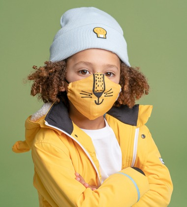 Dinoski Cub Kids Face Mask