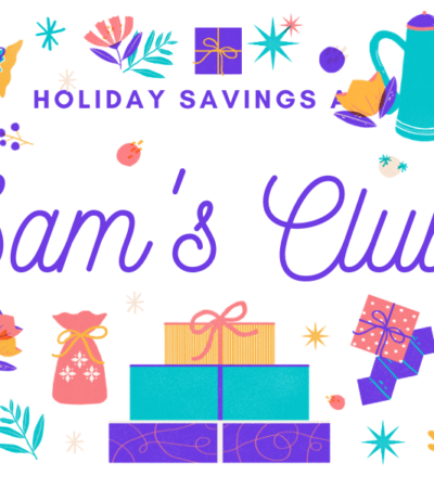 As you get ready for the holiday's head to Sam's Club and get everything you need for delicious meals, festive decor, and great gifts.