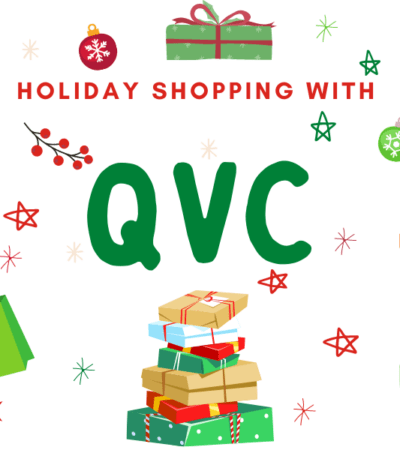 holiday shopping with QVC