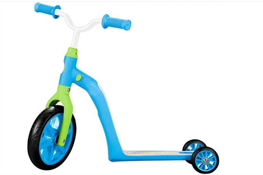 shop QVC for the holidays for this K6 Toddler Scooter, Convertible 4-in-1 Ride-OnBalance Trike