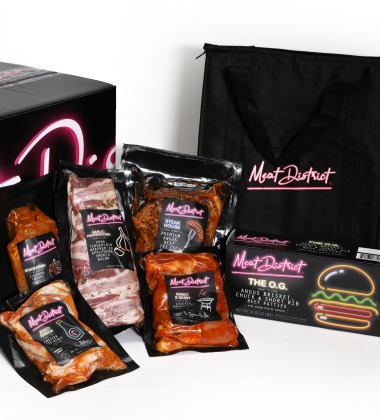 Meat Distrcit's Ultimate Grilling Pack online box