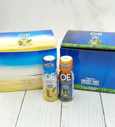 OE Earth's Energy energy and wellness shots