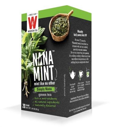Wissotzky Tea Nana Mint flavor in box