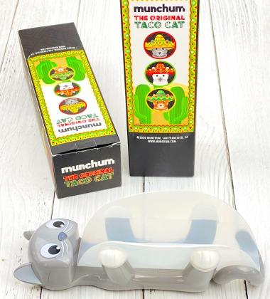 Munchum taco cat taco holder