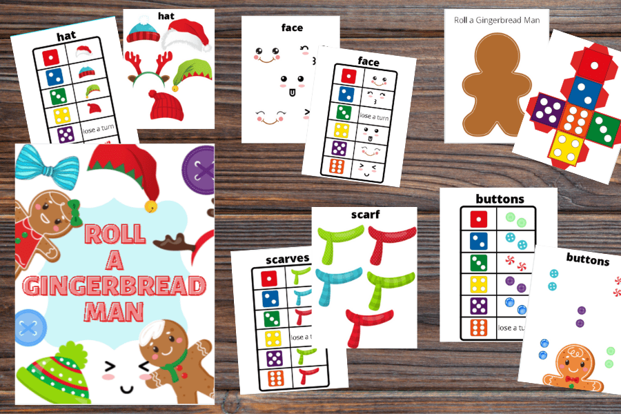 free printable Christmas game mockup image