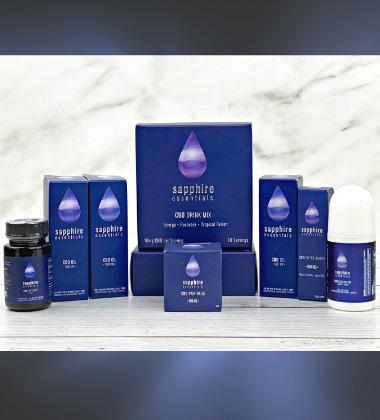 Sapphire CBD product line